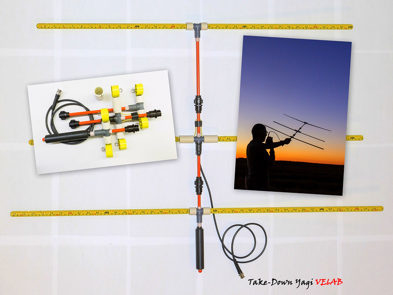Take-Down Yagi for your Go Box or your Back Pack