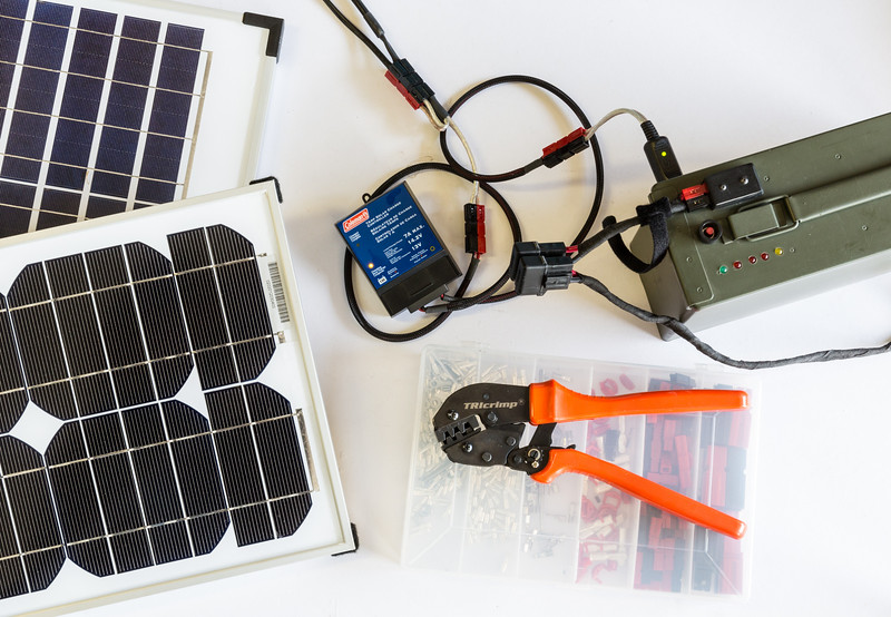Solar Panel Battery Charging