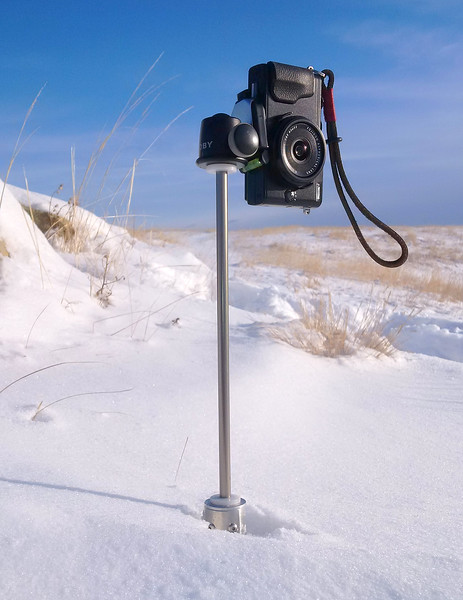 Snowpeg Monopod Photography