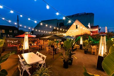 Hama Sushi's Hama Garden.  © VenicePaparazzi