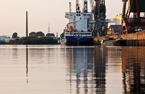 Hamburg Reiherstieg Hamburger Hafen HaBeMa