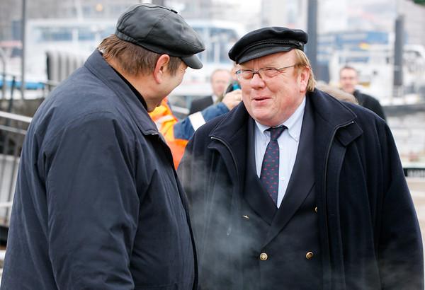 Der Technische Inspektor der Bugsier Reederei Jürgen Hinrichs