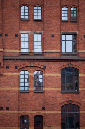 Fassade Speicherstadt Hamburg