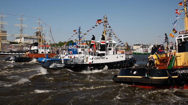 Schlepperballett Hafengeburtstag Hamburg