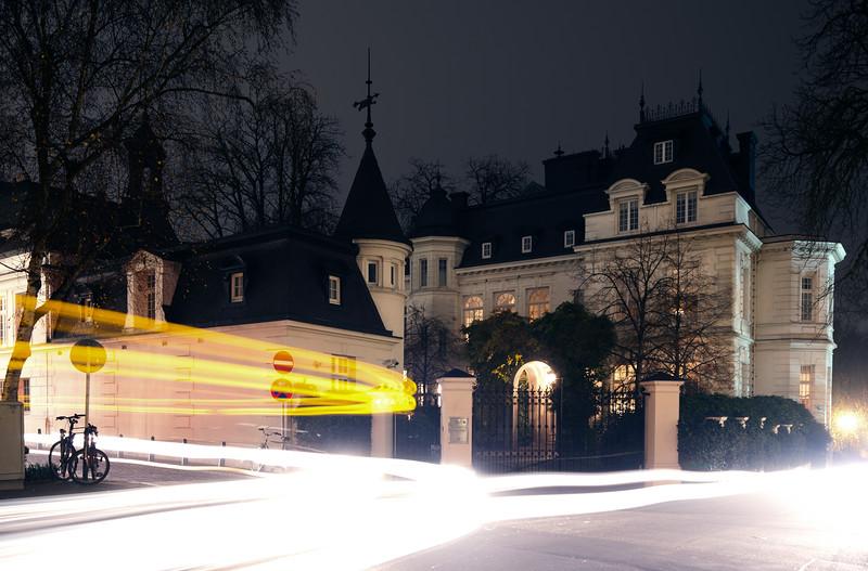 Pöseldorf Hamburg bei Nacht