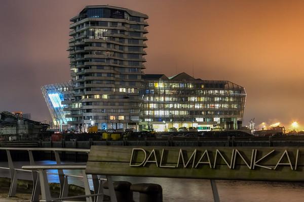 Marco Poloturm am Grasbrookhafen Hamburg HafenCity