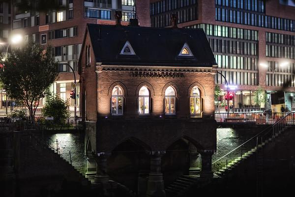 Fleetschlösschen in der Speicherstadt Hamburg