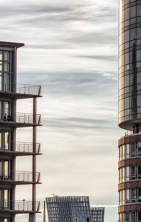Fassaden Kehrwiederspitze