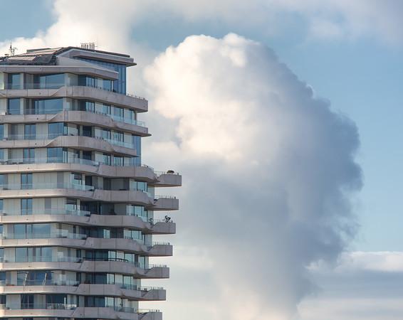 Marco Polo Turm in der HafenCity Architektur