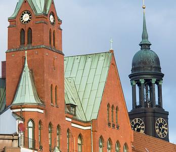 Schwedische Kirche und Michel