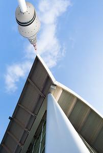 Fernsehturm und Messegebäude Architektur