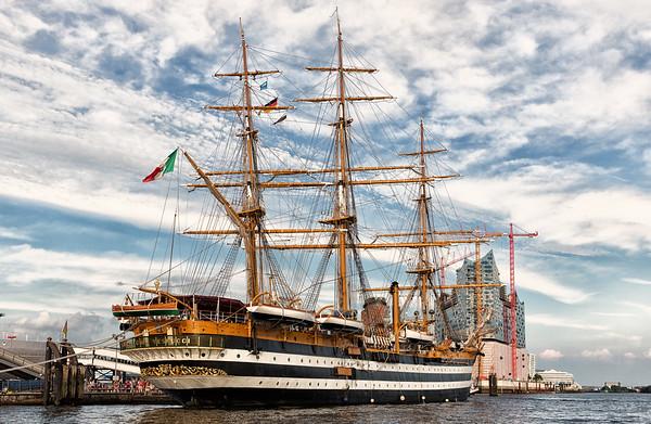 Italienisches Schulschiff Amerigo Vespucci