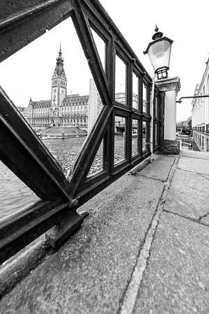An der kleinen Alster Rathaus Hamburg