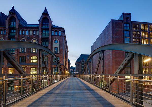 Speicherstadt Brücke Hamburg