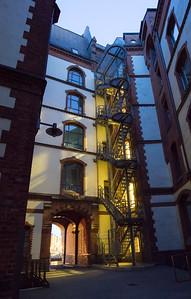 Speicherstadt Hamburg Hof bei Pickhuben
