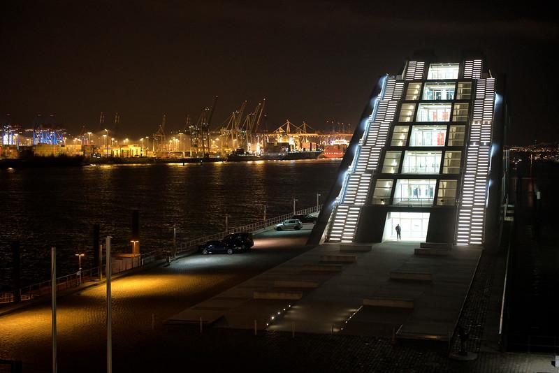 Hamburg Dockland am Abend