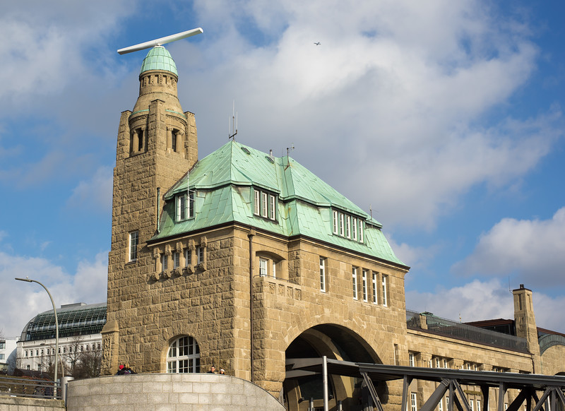 Radarturm Hamburg Landungsbrücken