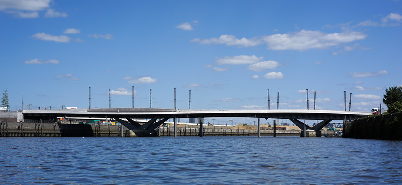 Baakenhafenbrücke Hamburg HafenCity