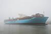 Mathilde Maersk in Hamburg auf der Elbe
