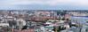 Ausblick vom Michel nach Süden mit Elbphilharmonie