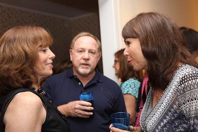 Rozzy Hooper-Hamersley book party July 2011