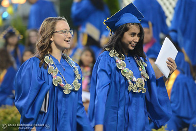 Hamilton High seniors graduate Friday, June 9, 2017, in Hamilton City, California. (Dan Reidel -- Enterprise-Record)