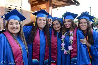 Hamilton High seniors graduate Friday, June 9, 2017, in Hamilton City, California. (Dan Reidel -- Enterprise-Record)