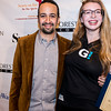 Lin-Manuel Miranda and Veronica Marks