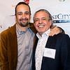 Lin-Manuel Miranda and Luis A. Miranda Jr.