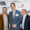 Lin-Manuel Miranda and Luis A. Miranda Jr. With David Bigelow
