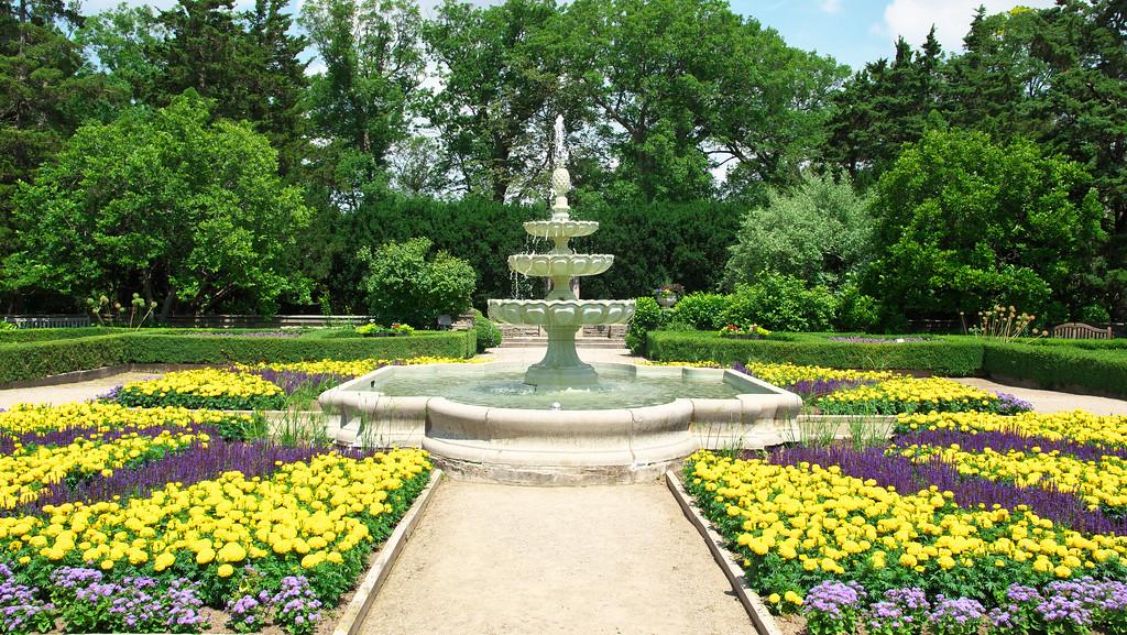 Scented Garden Fountain 2016