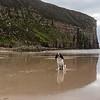 Hamish at Rackwick Bay, Isle of Hoy, Orkney