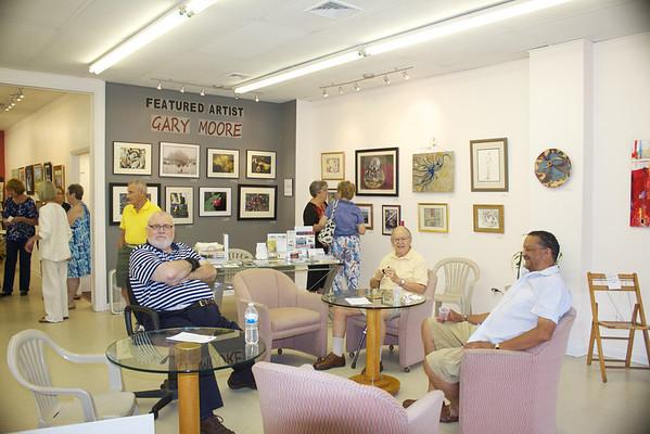 Hammonton Arts Center Reception 7-13-12