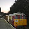Dusk at Shanklin station
