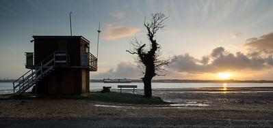 Southampton Water sunset