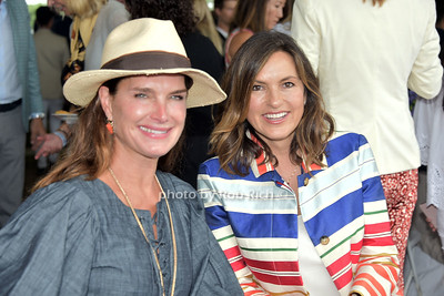 Brooke Shields and Mariska Hargitay