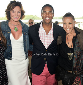 Countess Luann de Lesseps, Don Peebles, Donna Karan