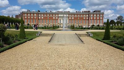 Hampton Court Palace 2014.