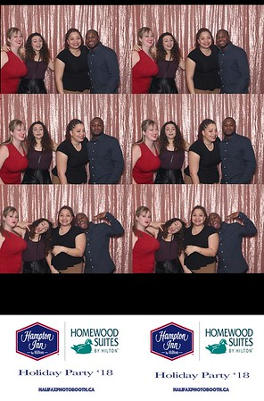 Hampton Inn Holiday Party