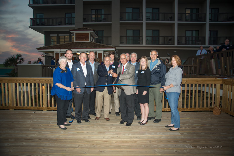 Pleasure Island Chamber of Commerce Ribbon Cutting
