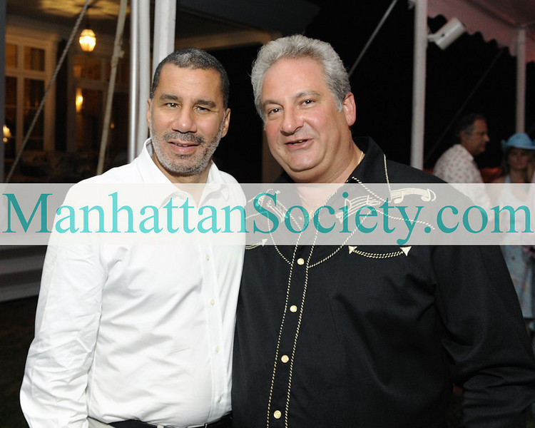 "WATERMILL-AUGUST 22: Governor David A. Paterson, <a href=""http://www.rickgarveymd.com/"" target=""_blank"">Dr. Richard Garvey</a>  attend BEST BUDDIES Hamptons Gala 2009 on Friday, August 21, 2009 at the home of Anne Hearst McInerney & Jay McInerney, Watermill, New York (Photo Credit: ©ManhattanSociety.com by Gregory Partanio)"