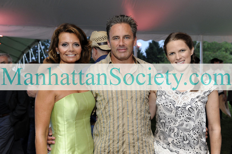WATERMILL-AUGUST 22: Lydia Touzet,  Campion Platt,   Sessa Von Richthofen Johnson attend BEST BUDDIES Hamptons Gala 2009 on Friday, August 21, 2009 at the home of Anne Hearst McInerney & Jay McInerney, Watermill, New York (Photo Credit: ©ManhattanSociety.com by Gregory Partanio)