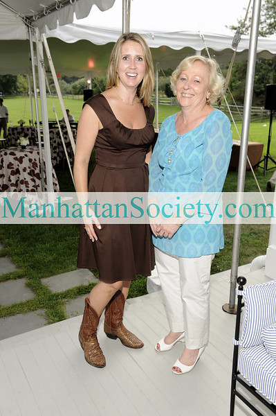 WATERMILL-AUGUST 22: Kristina Klug, Annelise Hirsch attend BEST BUDDIES Hamptons Gala 2009 on Friday, August 21, 2009 at the home of Anne Hearst McInerney & Jay McInerney, Watermill, New York (Photo Credit: ©ManhattanSociety.com by Gregory Partanio)
