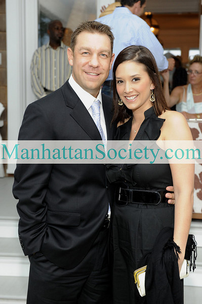 WATERMILL-AUGUST 22: Trey Radel, Amy Wegmann attend BEST BUDDIES Hamptons Gala 2009 on Friday, August 21, 2009 at the home of Anne Hearst McInerney & Jay McInerney, Watermill, New York (Photo Credit: ©ManhattanSociety.com by Gregory Partanio)