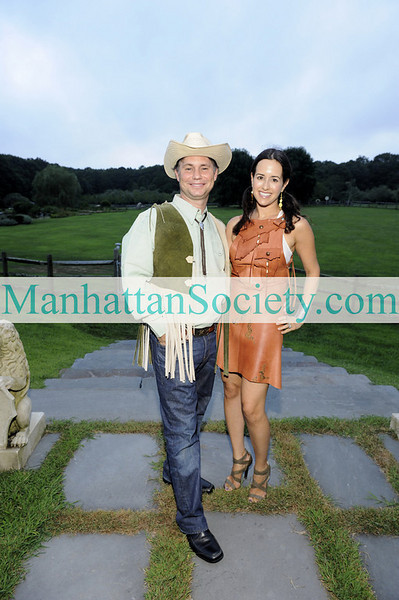 WATERMILL-AUGUST 22: Jason Binn, Haley Binn attend BEST BUDDIES Hamptons Gala 2009 on Friday, August 21, 2009 at the home of Anne Hearst McInerney & Jay McInerney, Watermill, New York (Photo Credit: ©ManhattanSociety.com by Gregory Partanio)