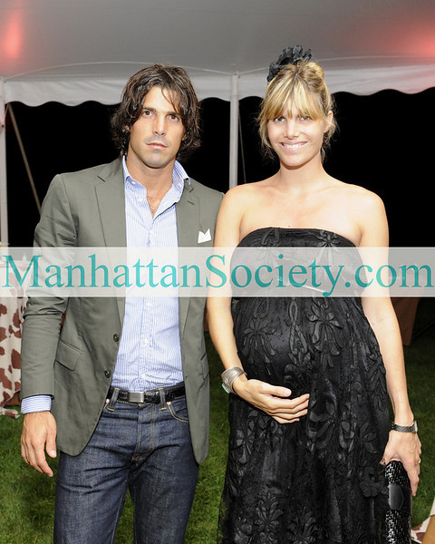WATERMILL-AUGUST 22: Nacho Figueras, Delphine Figueras attend BEST BUDDIES Hamptons Gala 2009 on Friday, August 21, 2009 at the home of Anne Hearst McInerney & Jay McInerney, Watermill, New York (Photo Credit: ©ManhattanSociety.com by Gregory Partanio)