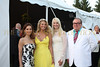 Jean Shafiroff, Christie Brinkley, Sara Herbert-Galloway and Hunt Slonem