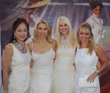 "Lucia Hwong-Gordon ""Fashion Committee"" wearing Dennis Basso, Jacqueline Murphy Stahl, Sara Herbert-Galloway, Ramona Singer; Real Housewives of New York"