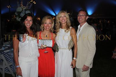 Karen Gluck, Gwen Bokine and friend, Dr. Brad Gluck