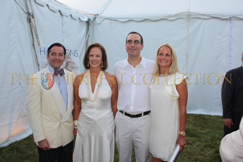 Guests, Steve and Heather Mnuchin